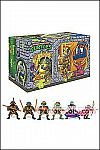 Playmates - TMNT Retro Rotocast Sewer Lair Figure Set PX Exclusive