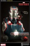 Sideshow Collectibles - Iron Patriot Life Size Bust