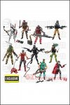 Hasbro - GI Joe 50th Anniversary Versus Two Pack Wave 3 Exclusive - Set of 5