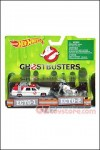 Hot Wheels - Ghostbusters 2016 Ecto-1 and Ecto-2 2-Pack